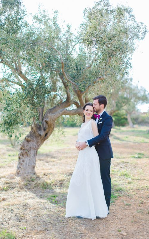 styled wedding in Athens, Greece