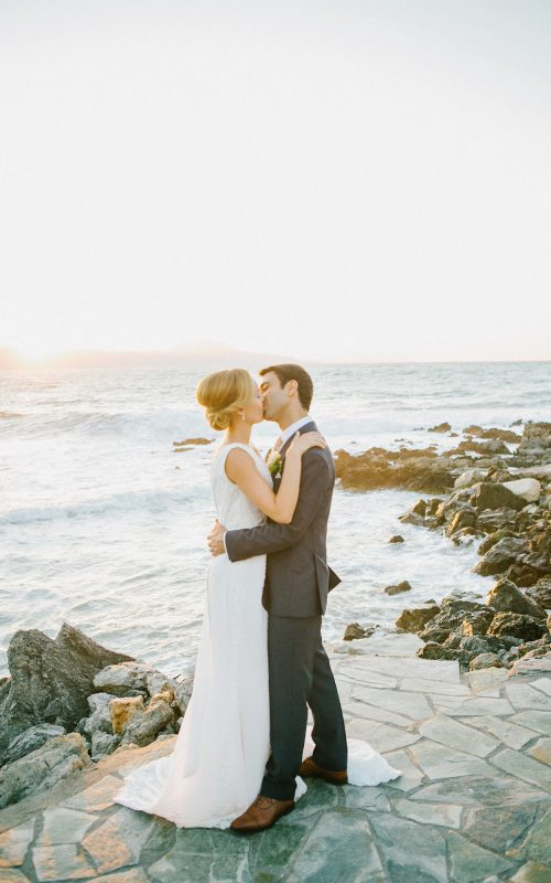 elegant destination wedding in Crete, Greece