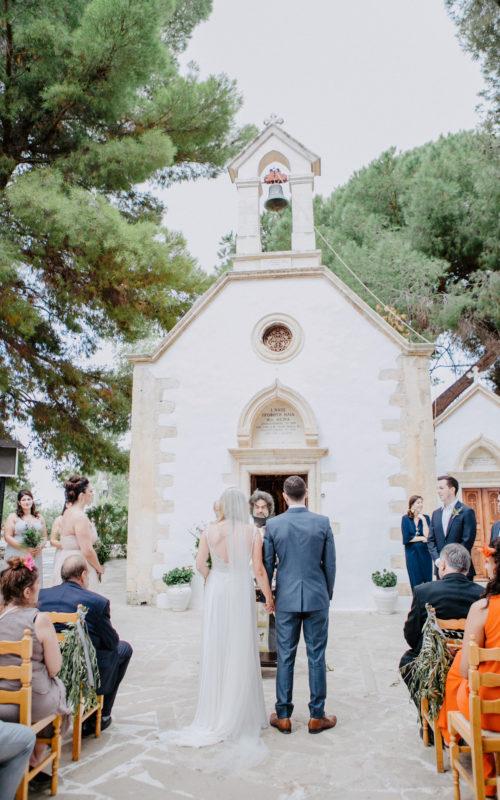 stylish destination wedding in Chania, Crete, Greece