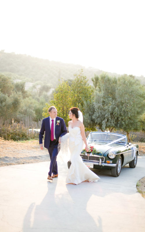 Soaringly Gorgeous Wedding in Cretan Province